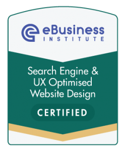 eBusiness Search Engine and UX Optimixed Design Certified