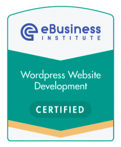 Ebusiness WordPress Website Developmemt Certified